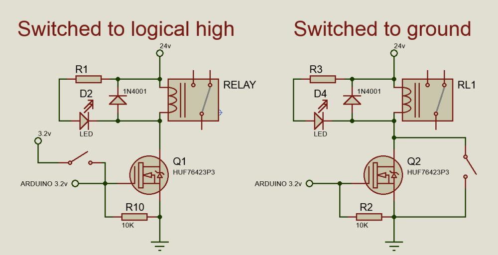 medium resolution of circuit diagram for relay driver