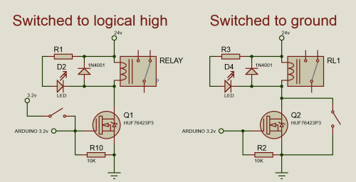 small resolution of circuit diagram for relay driver