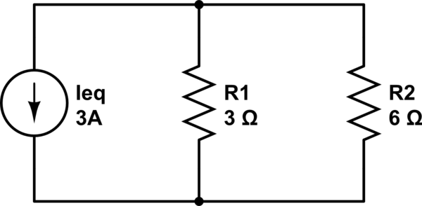 edit parallel circuit as a current divider