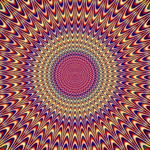 graphics  How can this image optical illusion be