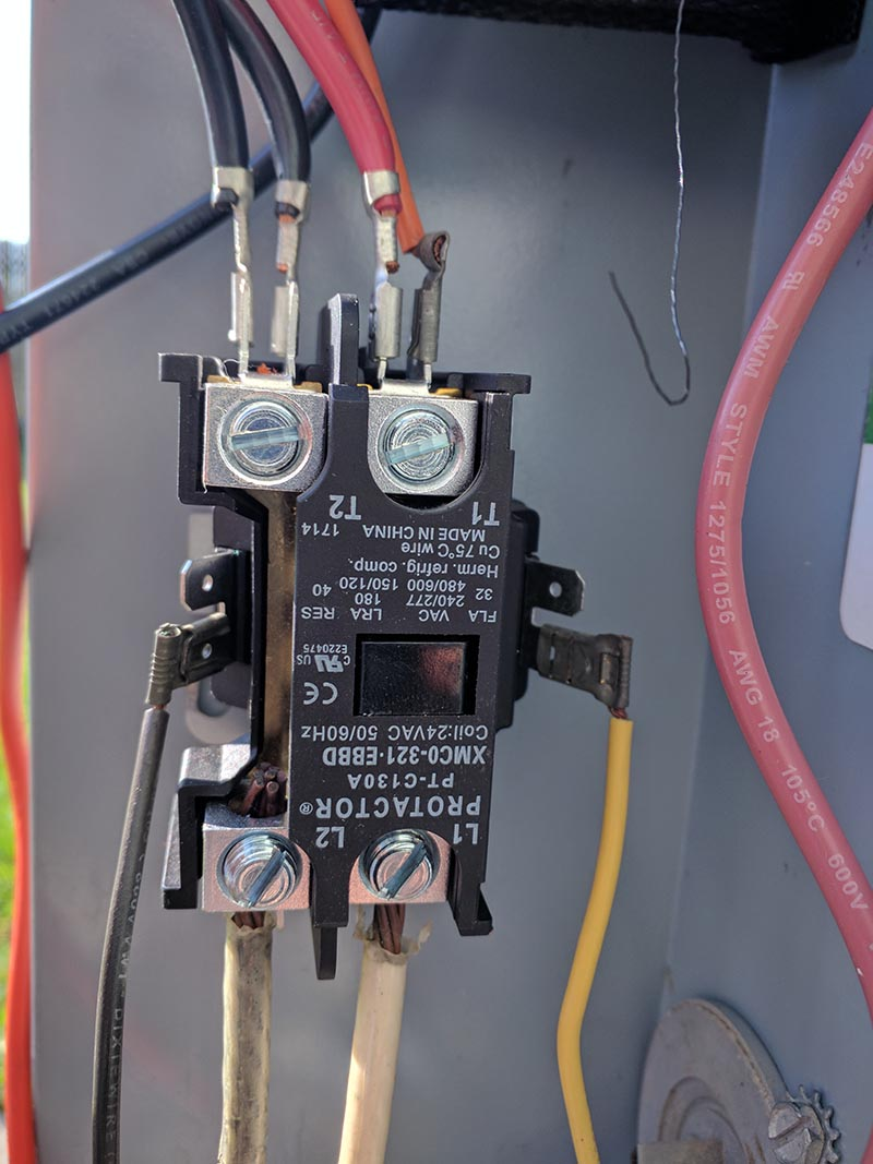 American Standard Compressor Wiring Diagram Hvac Condenser Fan Motor Overheats And Then Shuts Off