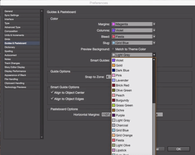 Why did my InDesign preview mode background turn black? - Graphic