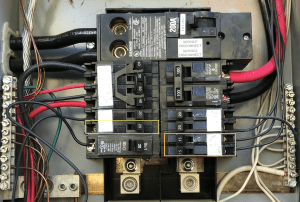 electrical  Help making room on 200 amp panel for 50amp