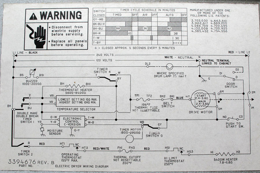 electrolux dryer wiring diagram puch maxi newport free engine image for frigidaire vs washer and photos