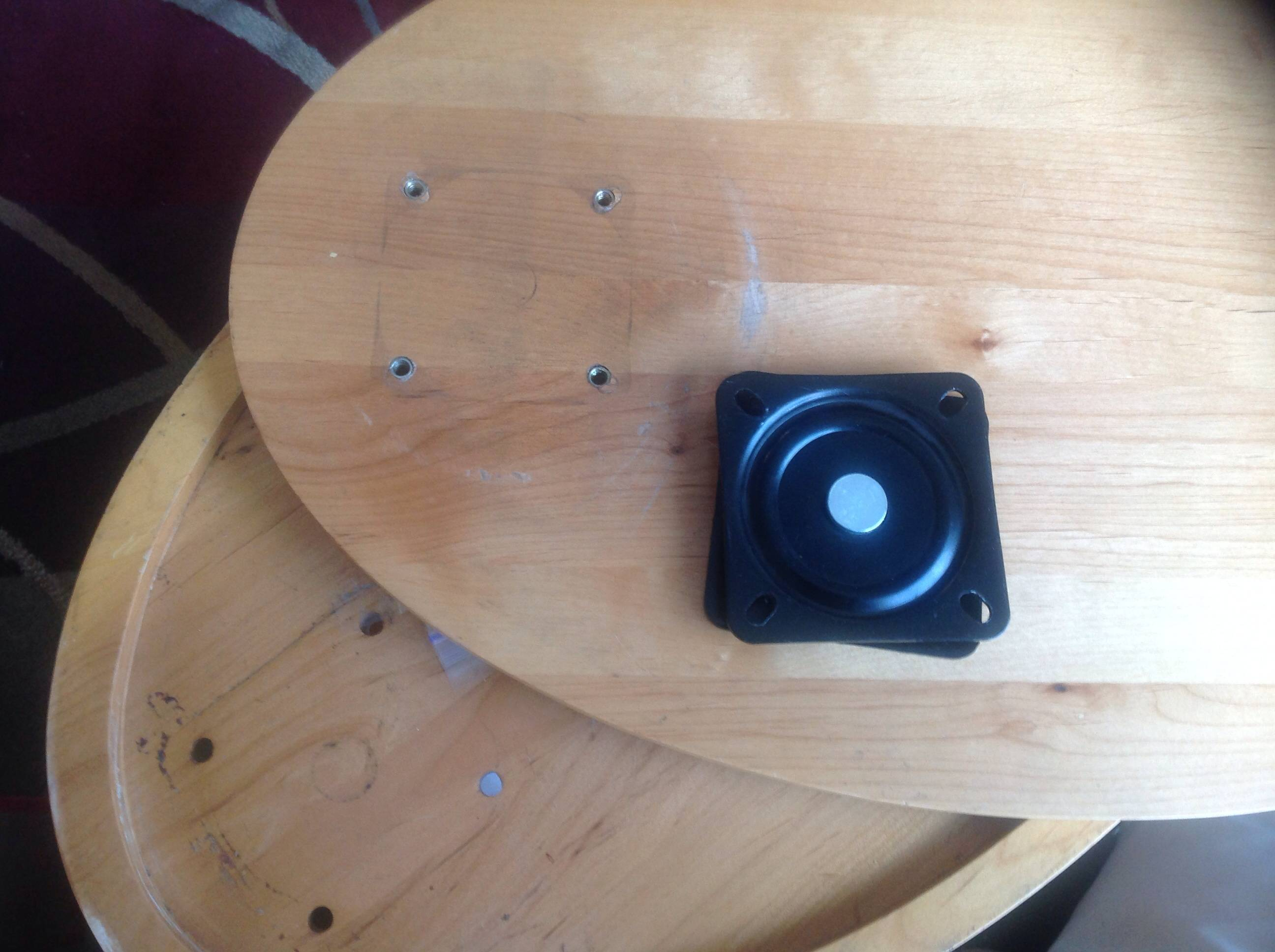 swivel chair base replacement how much does a stair lift cost furniture for swing top reading table