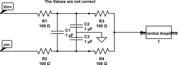 circuitlab rc circuit low pass filter