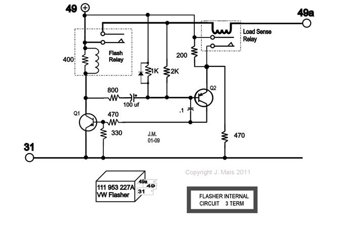 Load Resistor For Led Turn Signal Diagram