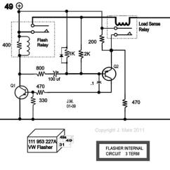 Electronic Flasher Unit Wiring Diagram Ktm Duke 125 Transistors With Low Load Detection Relay