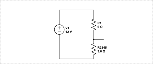 Can you help me find the voltage drop for R3 and R4 on the