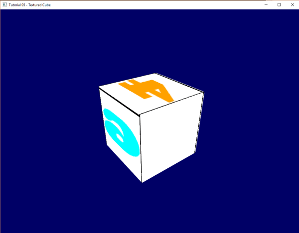OpenGL textured cube tutorial example code not working