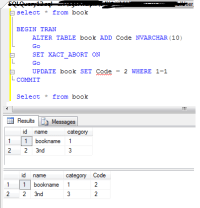 sql - Alter Table Add Column and update the new Column in ...