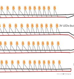 power supply for 144 leds in parallel electrical engineering led series parallel wiring diagrams [ 2525 x 1808 Pixel ]