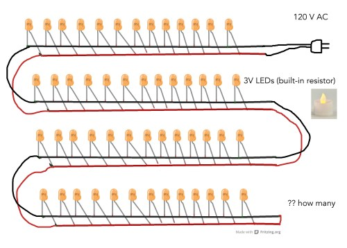 small resolution of power supply for 144 leds in parallel electrical engineering wiring leds in parallel vs series wiring leds in parallel
