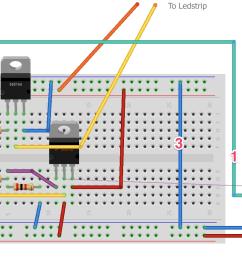 esp8266 using a tip120 darlington transistor to control a 12v fan 12v 3 wire fan diagram 12v fan diagram [ 1530 x 861 Pixel ]