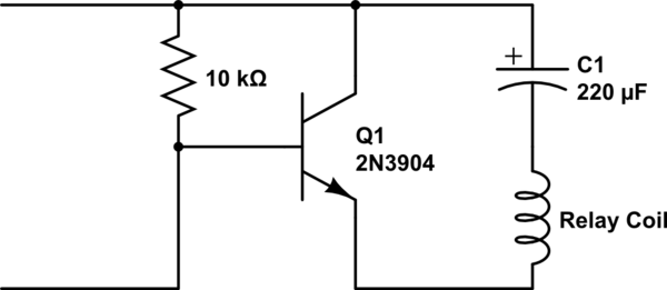 latching relay in control circuit
