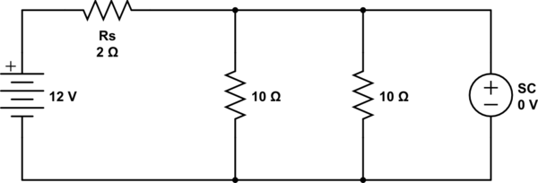Understanding resistance in open and short circuits