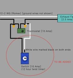 electrical would this be the correct way to add a timer switch to rh diy stackexchange com attic fan wiring code attic fan wiring [ 1195 x 1024 Pixel ]