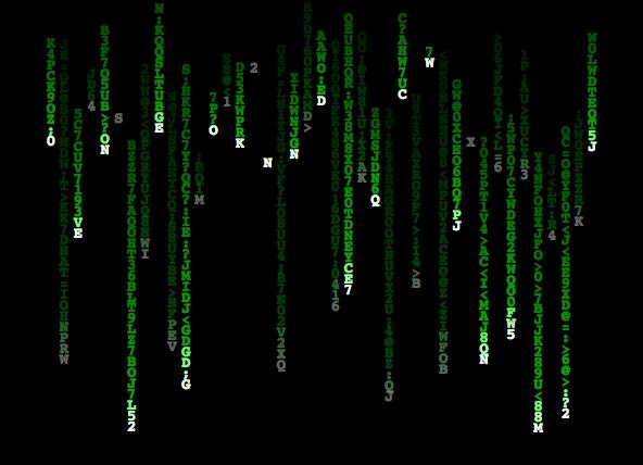 Matrix Falling Code Wallpaper Generative Art Playing With Matrix Falling Code In