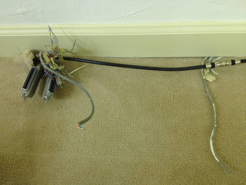 medium resolution of mess of wire
