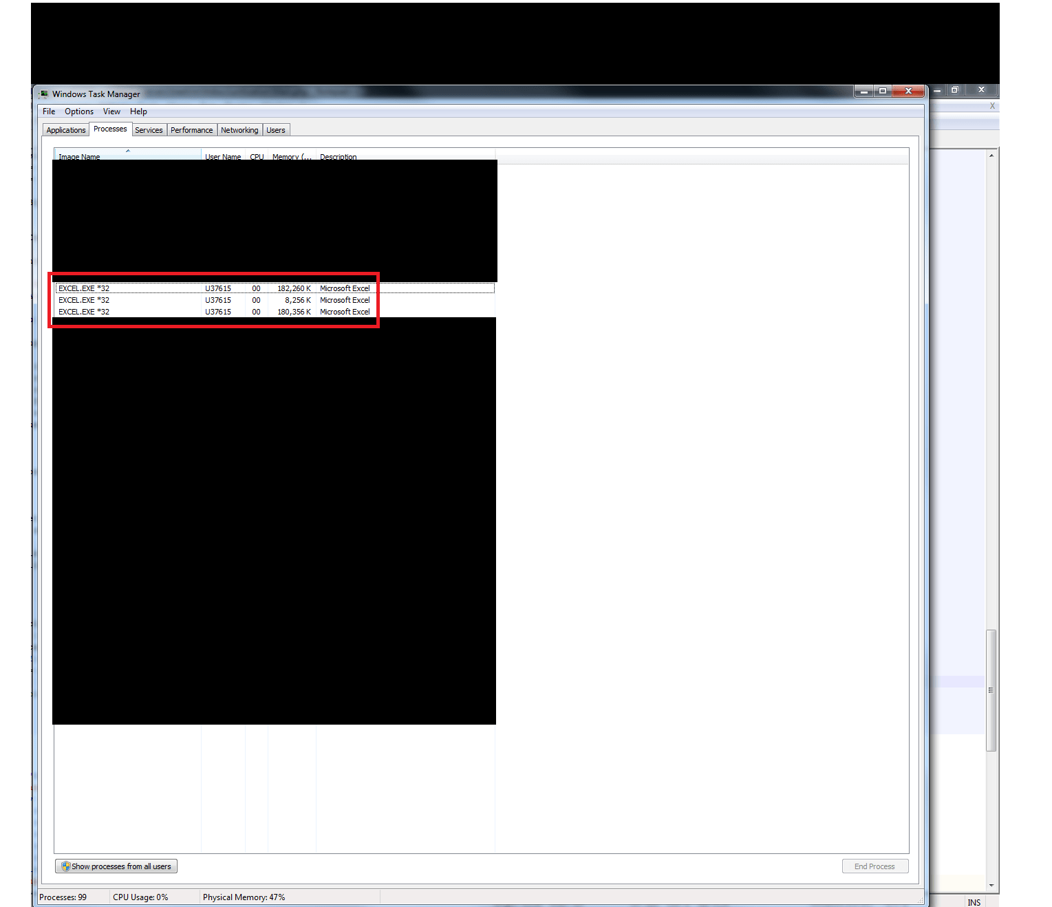 Activexobject Excel Leaves Excel Exe 32 In Procces