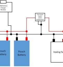 batteries heating pad circuit electrical engineering stack exchange hair  dryer schematic heating pad schematic