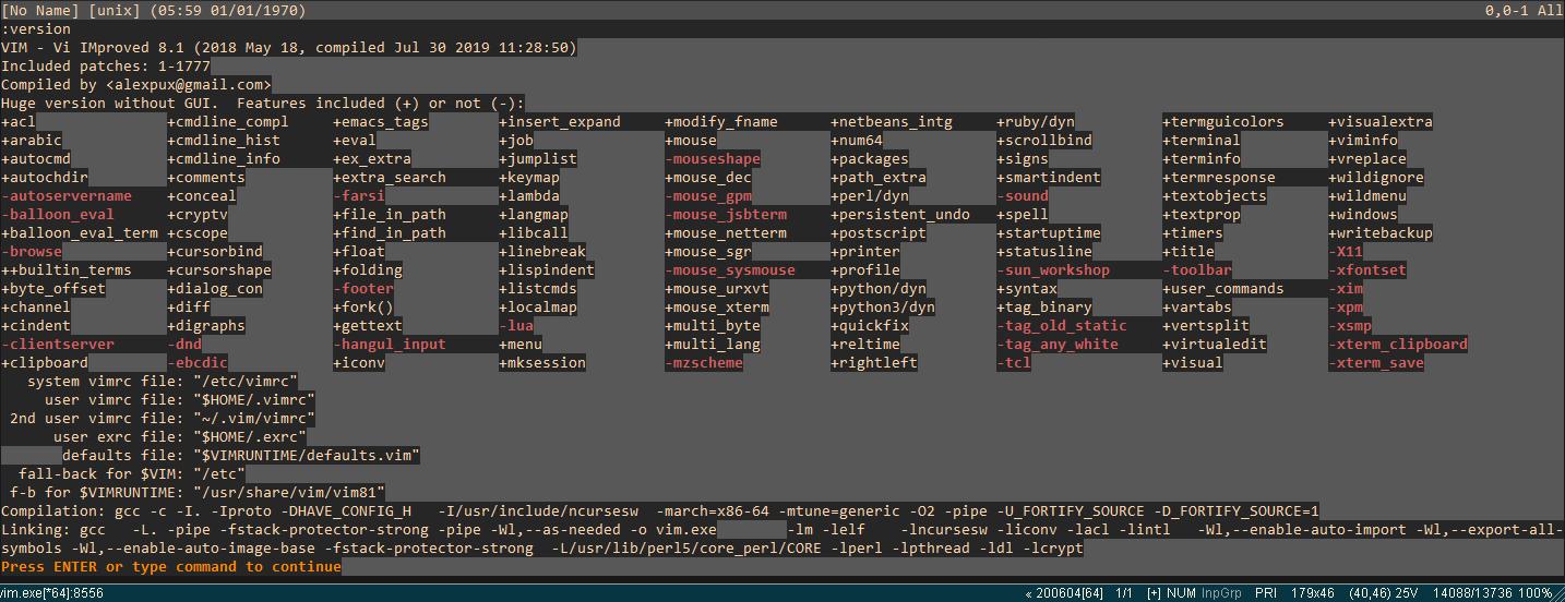 windows - Проблемы с поддержкой Python в Vim - Stack Overflow на русском