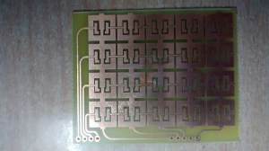 microcontroller  QTouch Matrix ATmega8 issues