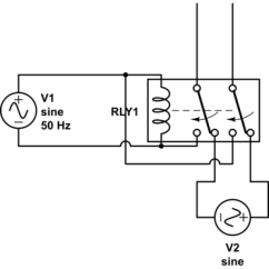 Dpdt Relay Wiring Diagram 240 Volt Single Phase Motor Mains Using A To Switch Between 230vac Inputs Electrical Schematic