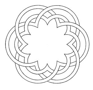How do I create this circle pattern in illustrator