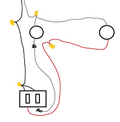Light Fixture Box Fan Box Wiring Diagram ~ Odicis