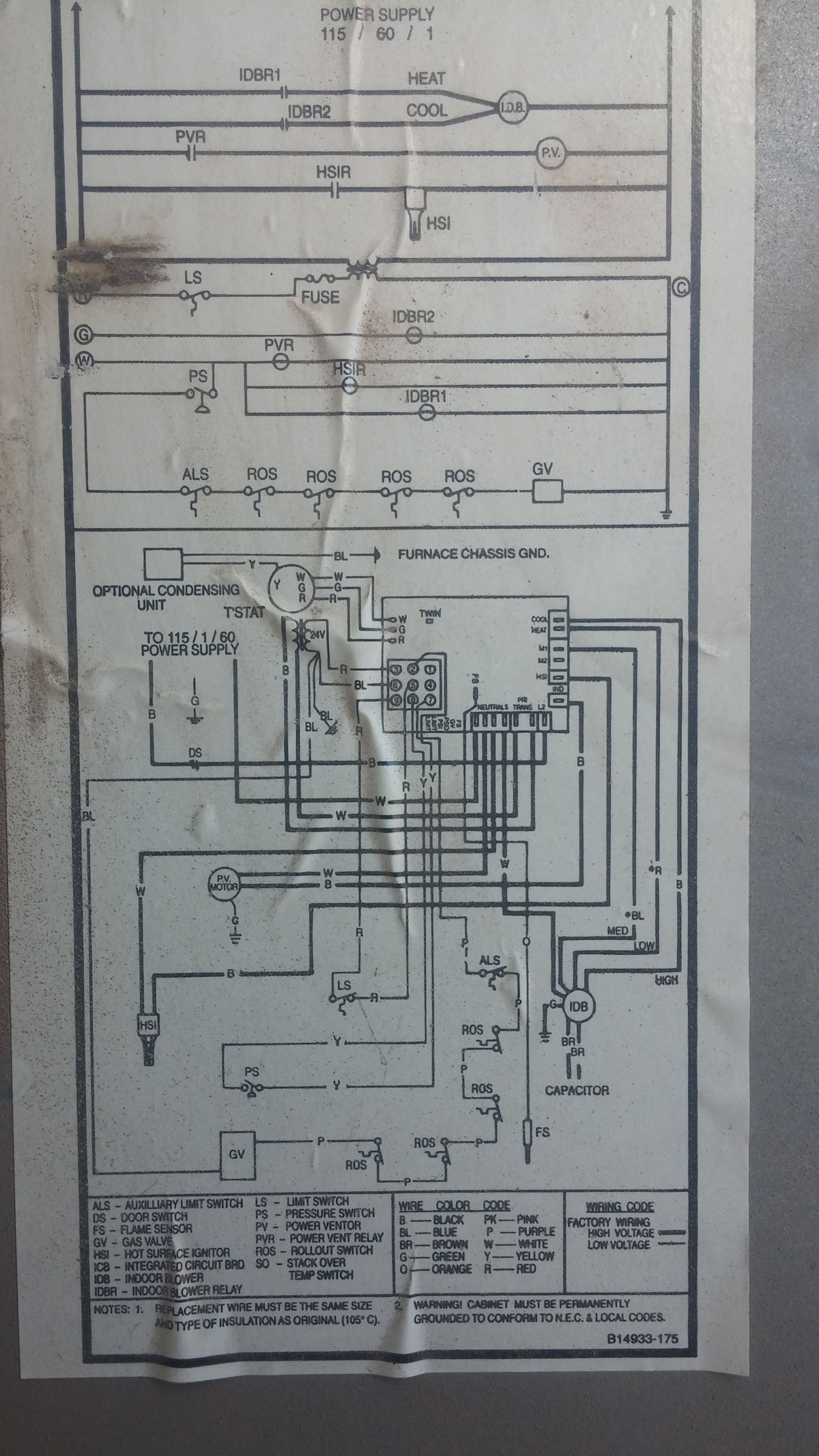 In Wall Wiring Diagram