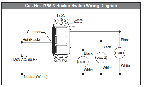 6 pin switch wiring diagram 2003 honda crv headlight ac rocker data electrical how to wire multi control home panel