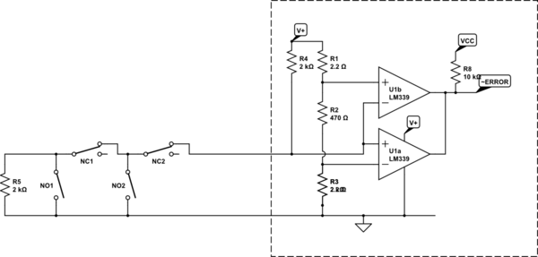 Supervised Eol Resistor Wiring Diagram Doorbell Circuit