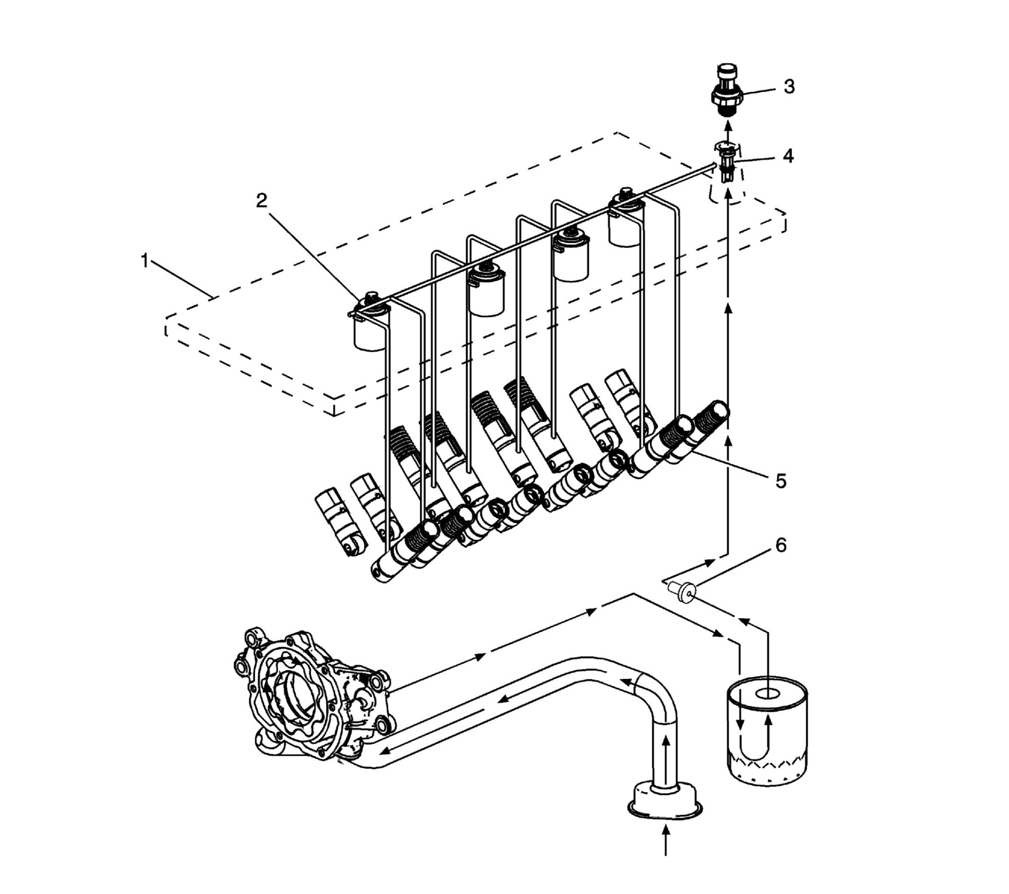 hight resolution of cylinder deactivation hydraulics