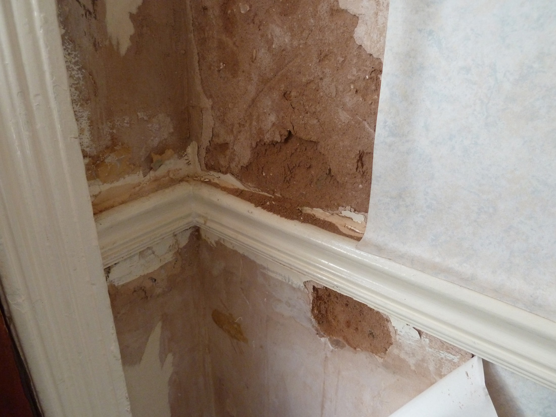How Can I Repair Severly Water Damaged Interior Wall