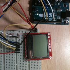 Pin 7 Arduino Jimmy Page Wiring Diagram Nokia 5110 Lcd Screen Problem - Stack Exchange
