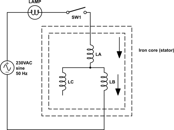 wiring diagram for 230v single phase motor of organs and ribs 220 electric t7 great installation the leads my 3 are incorrectly labeled how do i rh electronics stackexchange