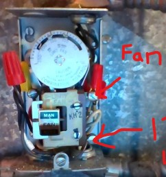 wiring adding fan feature to oil furnace from thermostat home [ 1280 x 720 Pixel ]
