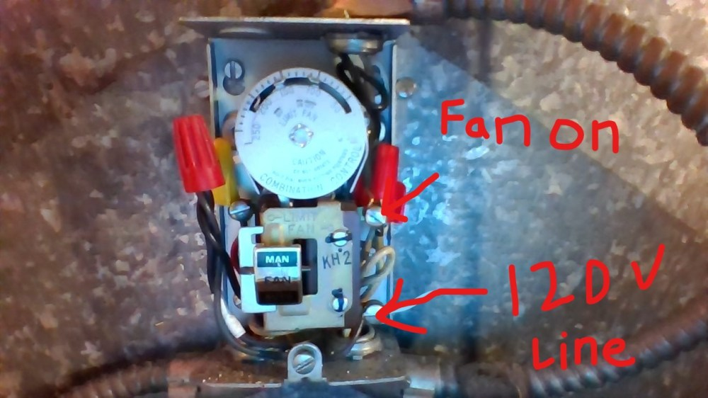 medium resolution of wiring adding fan feature to oil furnace from thermostat home