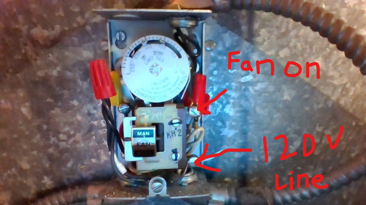 hight resolution of wiring adding fan feature to oil furnace from thermostat home