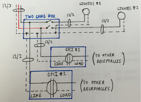 Electrical Need Help Designing A Circuit Layout And Wiring