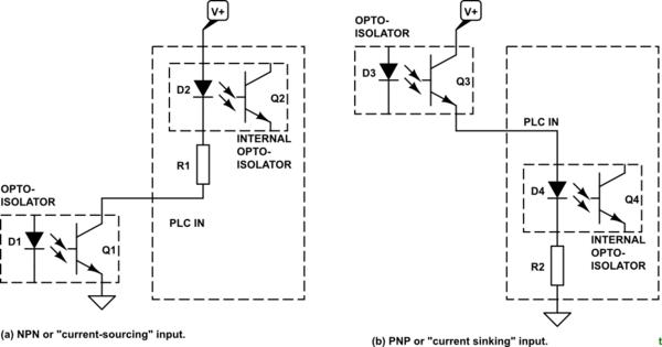 plc circuit schematic