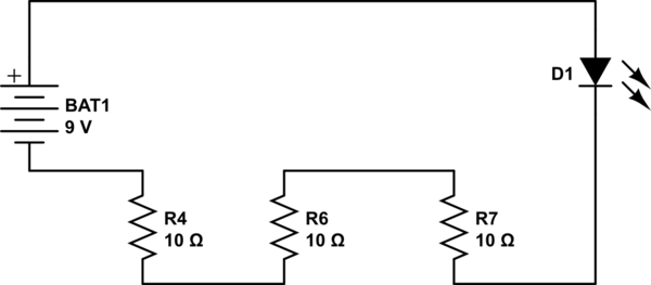 schematic diagram of led bulb