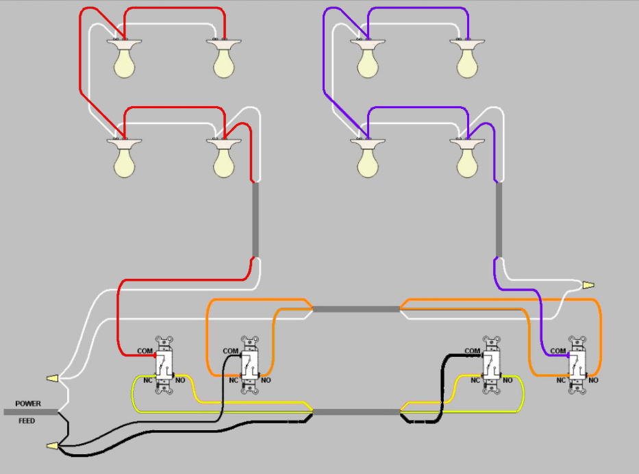 3 wire pickup wiring diagram maestro dimmer electrical extending power from existing three way switch circuit enter image description here