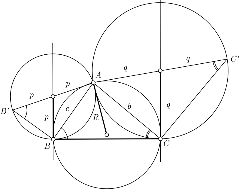 Problem on Law of Sines from 'Geometry Revisited