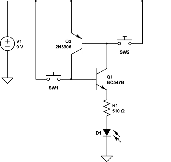 Silicon Controlled Switches SCS equivalent circuit with