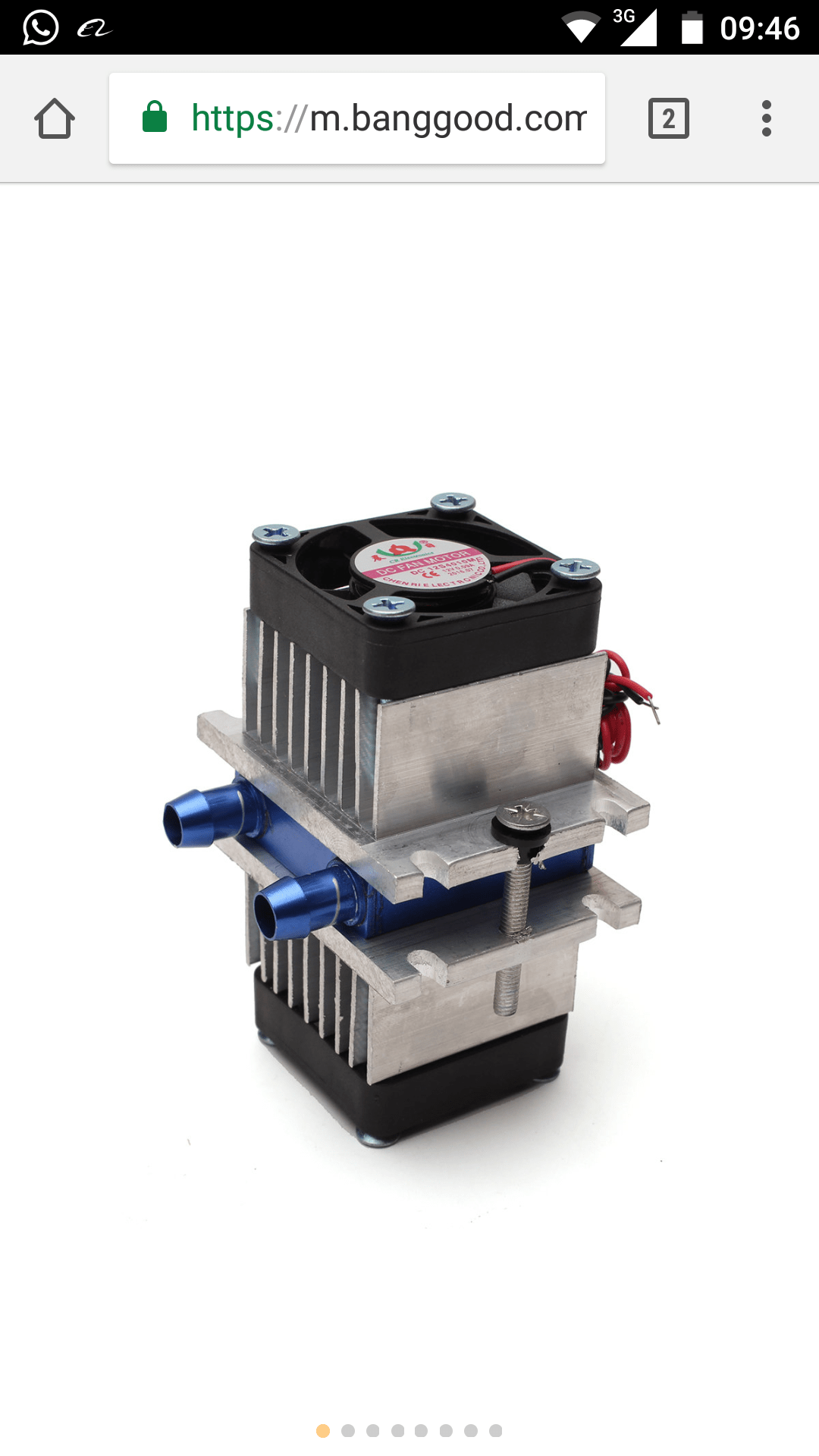 Thermoelectric Cooler With Fan Electrical Engineering Stack Exchange