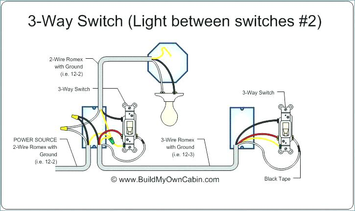 What Is The Correct Way To Wire A 3 Way Switch Where Power Comes Into The Middle Switch Home Improvement Stack Exchange