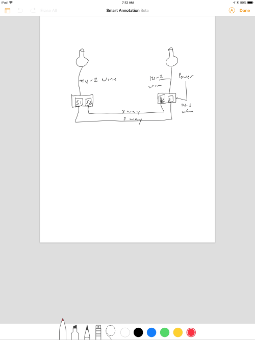 small resolution of 3 way switches with switch load at each end