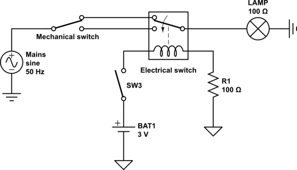 schematic battery backup